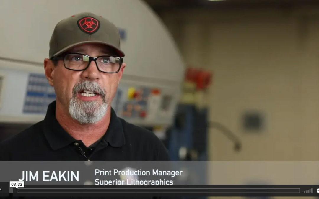 Superior Lithographics Adopts Lithec Inline Color Control