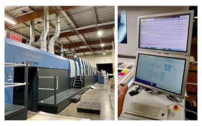 Foster Printing Upgrades Koenig & Bauer Presses with Lithec LithoFlash